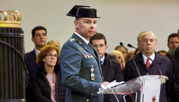 El nuevo coronel Guardia Civil en Navarra asume cargo