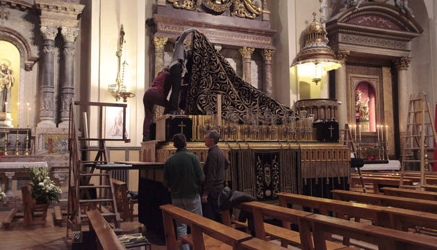 La Dolorosa será trasladada el viernes desde San Lorenzo hasta la Catedral