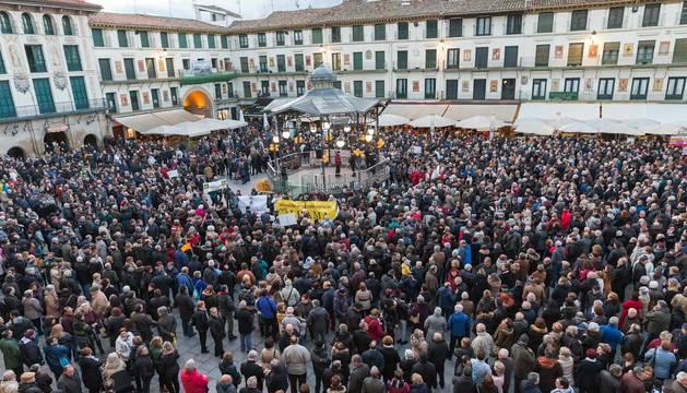 Manifestación en Tudela por las pensiones dignas