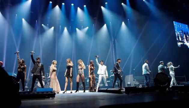 Imágenes del segundo concierto de la gira.