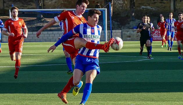 Imagen de un partido anterior del Izarra.