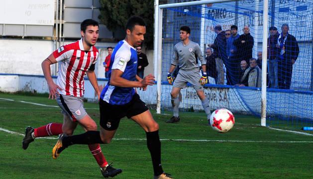 Valdo, protagonista este domingo de la acción previa al primer gol, en un partido anterior.