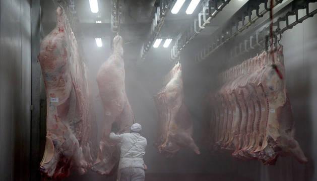 Imagen de un matadero.