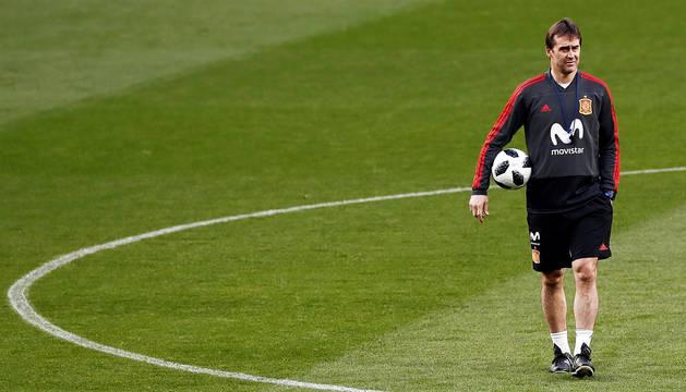 Messi mide el potencial de la España de Lopetegui