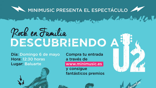 Nace Minimusic, una alternativa musical para disfrutar de los conciertos en familia