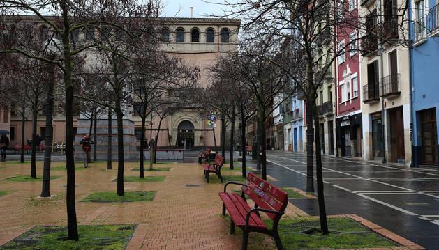 Foto de la Plaza Compañía de Pamplona