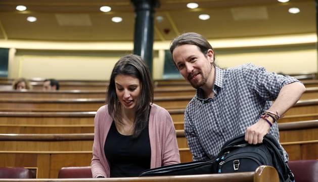 Irene Montero y Pablo Iglesias serán padres de mellizos