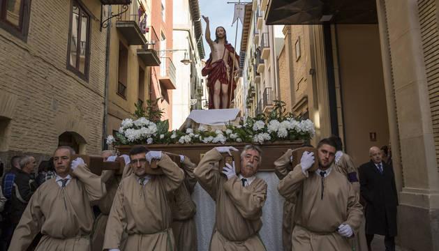 El Resucitado se consolida en Pamplona