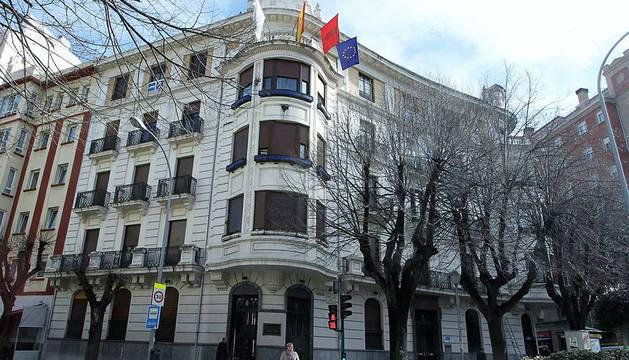 La sede de UPN en Pamplona