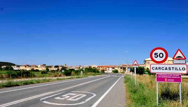 Imagen de Carcastillo, uno de los cinco pueblos que ha suscrito el convenio.