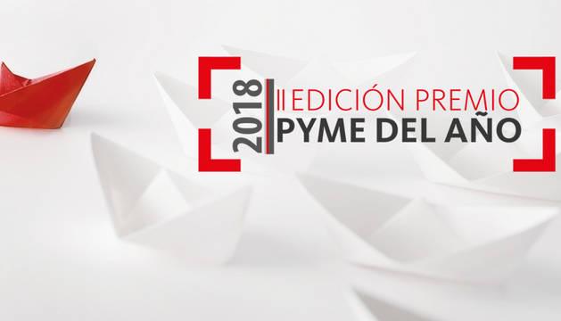 foto de Imagen gráfica de la convocatoria del Premio Pyme del Año 2018 de Navarra.