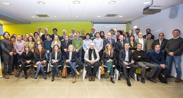 Imagen de la presentación del Clúster Agroalimentario de Navarra, Nagrifood.