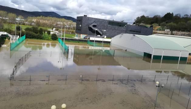 Estado de la S.D. Amaya tras las inundaciones