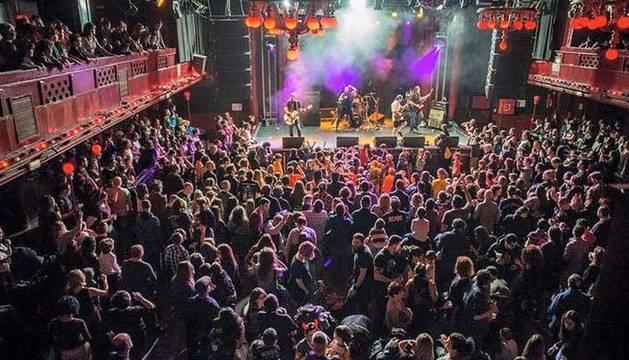 Un concierto de rock en familia en Madrid