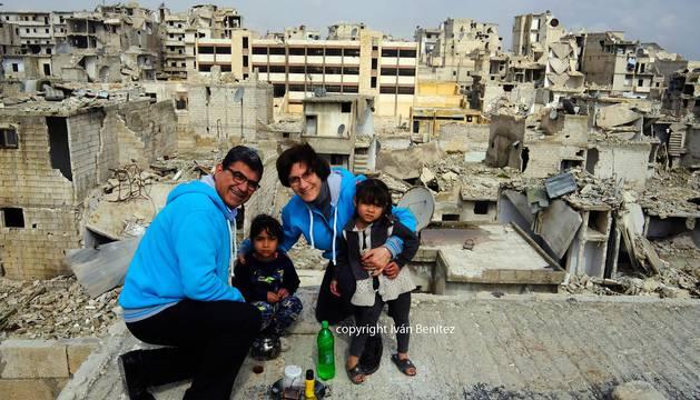 Ángeles en Aleppo
