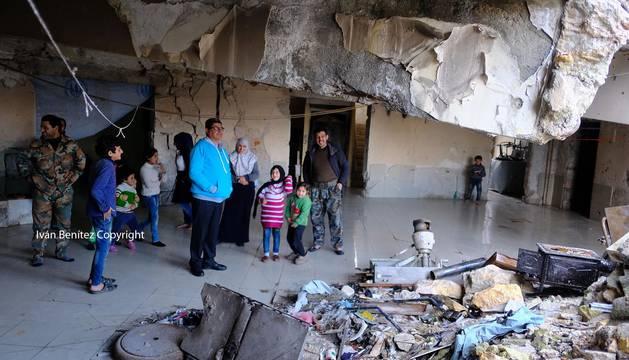 Tercera entrega del viaje del periodista de Diario de Navarra, Iván Benítez, a Siria.