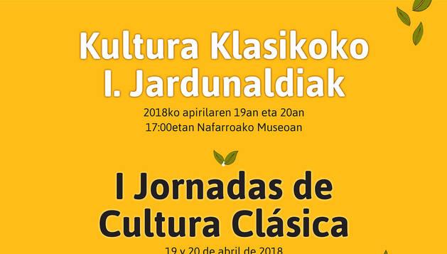 Llegan al Museo de Navarra las I Jornadas de Cultura Clásica
