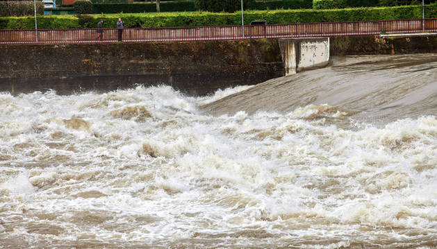 Imagen del río Ebro a su paso por La Rioja.