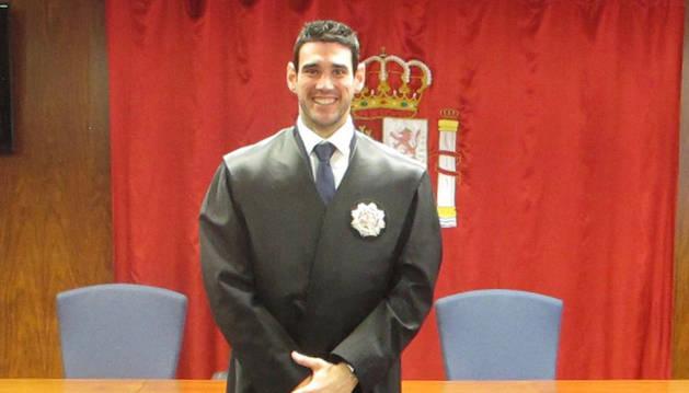 Imagen del juez Andoni Arano Sastre.