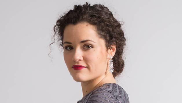 Imagen de la soprano navarra María Ayestarán.