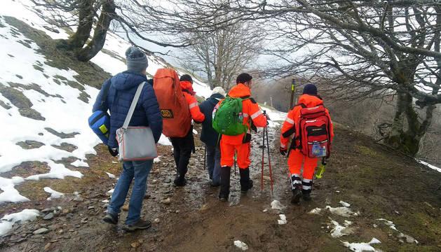 Atendida una peregrina belga de 73 años en Lepoeder