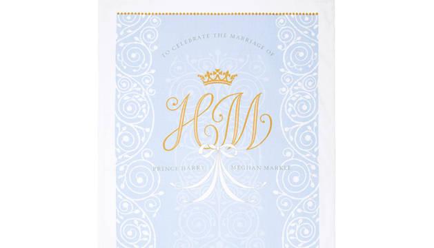 Sacan a la venta el paño de cocina oficial de la boda del príncipe Enrique