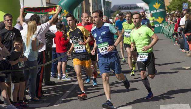 Burlada, Huarte y Villava vivirán el domingo su XXIX Carrera Hiru Herri.