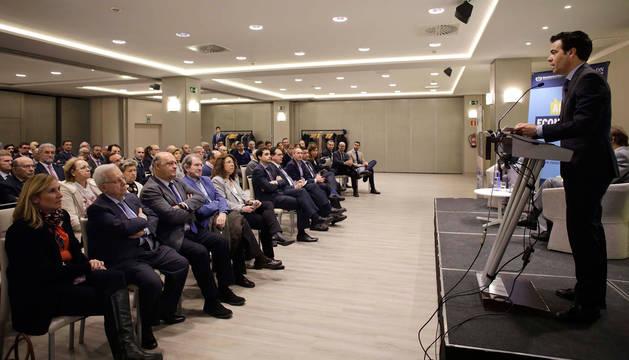 foto de El presidente del Instituto de Crédito Oficial (ICO), Pablo Zalba, durante su intervención.