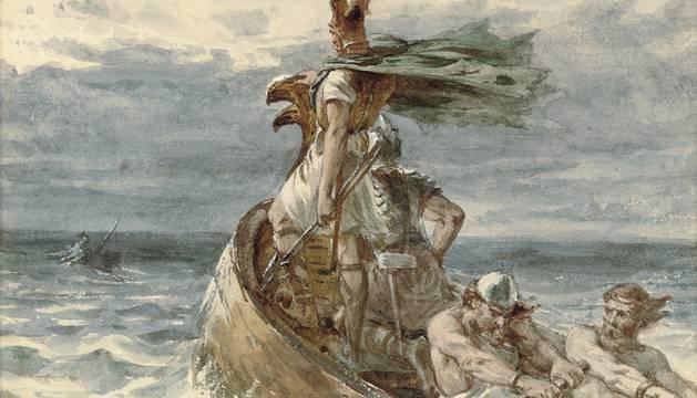 El tesoro vikingo del rey 'Diente Azul'