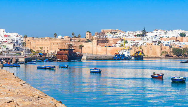Imagen de la ciudad marroquí de Rabat.