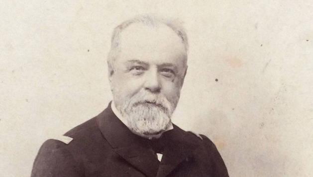 Imagen del almirante Cervera (Cádiz, 1839-1909).