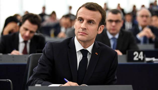 Macron reclama reforzar la soberanía europea frente a los egoísmos nacionales