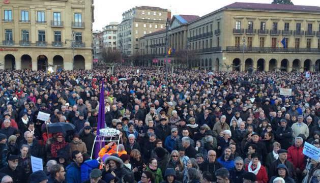 Jubilados y pensionistas de Navarra y Euskadi convocan manifestaciones el 5 y 26 de mayo