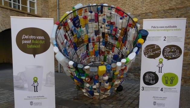 El vaso reutilizable se extenderá a las fiestas de los barrios