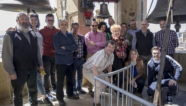 Galería de los Campaneros de la Catedral de Pamplona