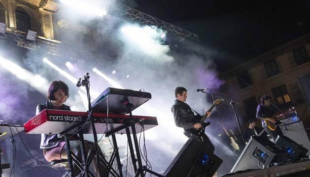 Dorian estrena su nueva gira con un concierto en Tudela