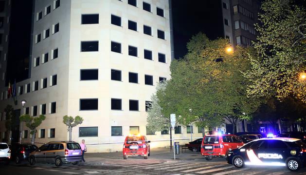 Explosi n en las oficinas de la agencia tributaria del estado en pamplona noticias de navarra - Oficinas de la agencia tributaria ...