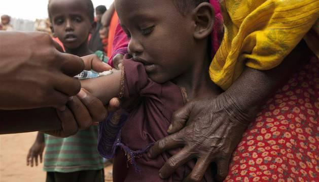 Al menos 13 millones de niños no han sido vacunados nunca, según UNICEF