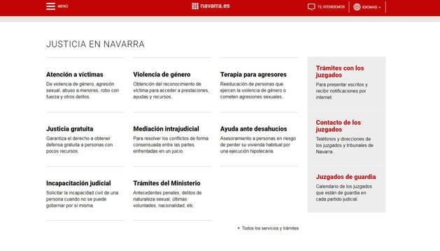Entra en servicio la Sede Judicial Electrónica de Navarra