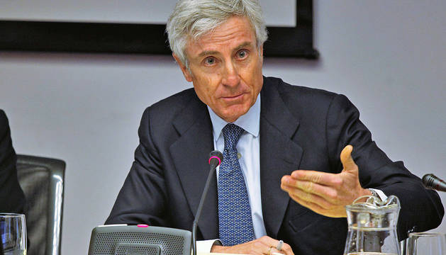 Enrique Goñi, en la comisión de investigación de la CAN.