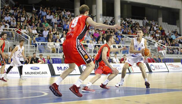 Imagen del partido disputado este sábado en Alicante.