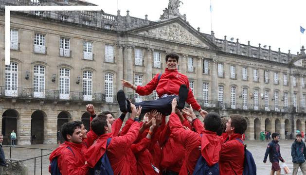 Un estudiante navarro consigue una de las 50 plazas del Programa Becas Europa