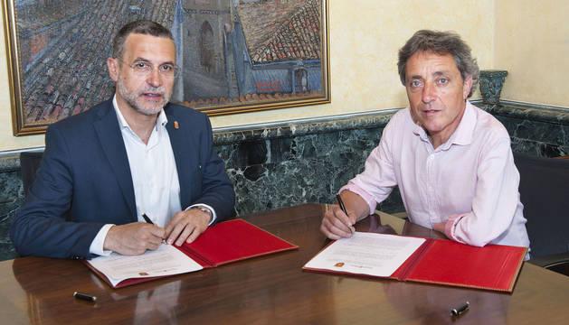 Carcastillo se convierte en el 14º municipio de la Bolsa de Alquiler