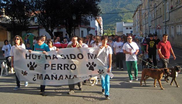 La movilización después del envenenamiento de ocho perros llevó a la creación de 'Huellas de Atlsasu'