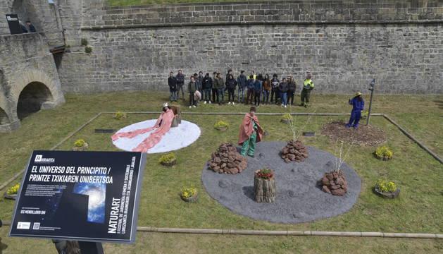 Se abren en la Ciudadela de Pamplona los once jardines de 'Naturart'