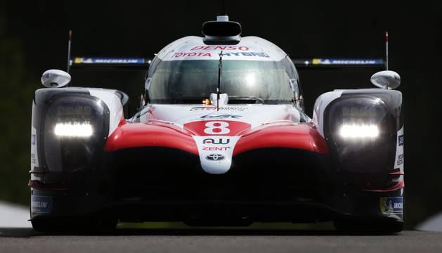 El Toyota de Alonso