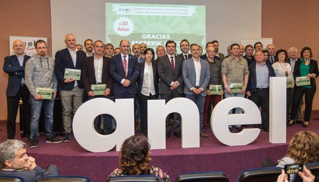 La asamblea de ANEL, celebrada este viernes en Pamplona.
