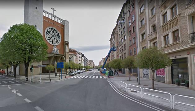 Colisionan dos turismos en Pamplona por exceso de alcohol dejando dos heridos