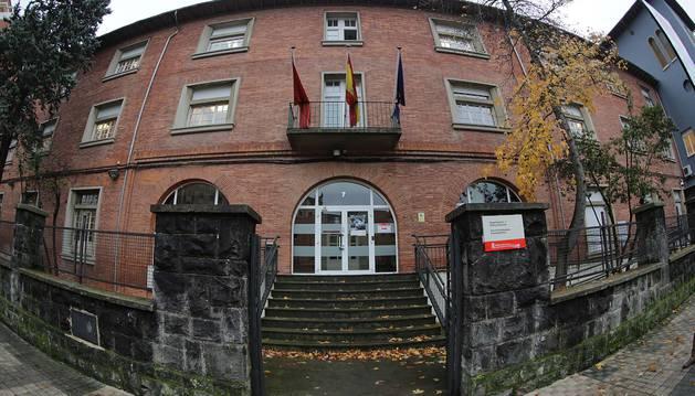 Sede del departamento de Derechos Sociales.