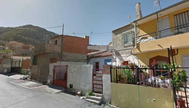 Una calle de la pedanía de Beniaján (Murcia).